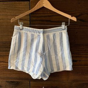 English Factory Pinstripe Shorts